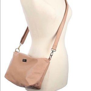 BCBG Paris Tan Crossbody Bag Purse
